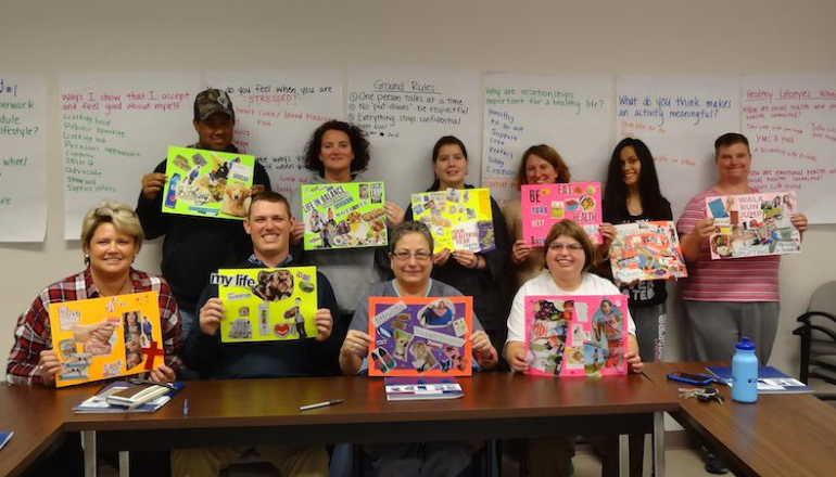 Health Dyad Participants with Art