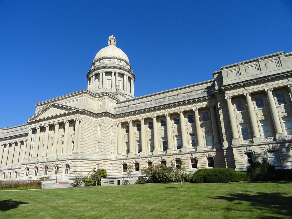 Photo of Kentucky state capitol.