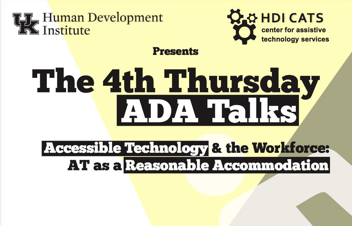 Image of ADA flyer with same information as on web page.