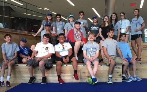 Summer Leadership Camp Experience Group Picture