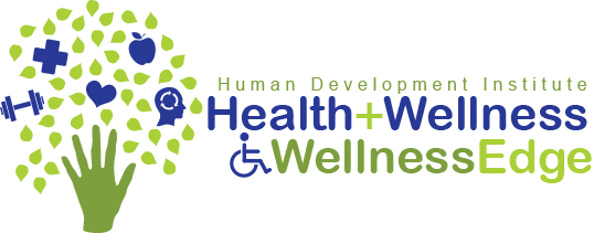 Green and Blue Health and Wellness logo