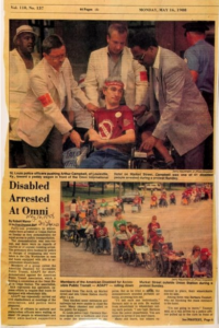 Newspaper Article Clipping